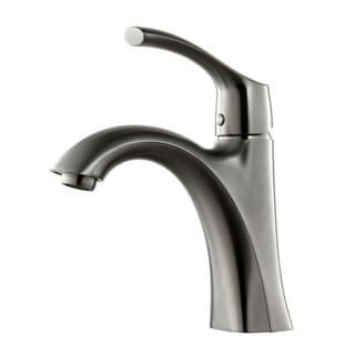 Y-Decor Tayman Single Handle Brushed Nickel Finish Lavatory Faucet - Brushed nickel
