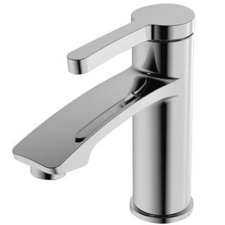 Y-Decor Steel Chrome Finish Single Handle Lavatory Faucet|https://ak1.ostkcdn.com/images/products/12510519/P19317340.jpg?impolicy=medium