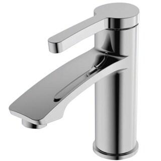 Y-Decor Steel Chrome Finish Single Handle Lavatory Faucet