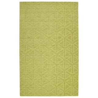 Trends Wasabi Prism Wool Rug (9'6 x 13'6)