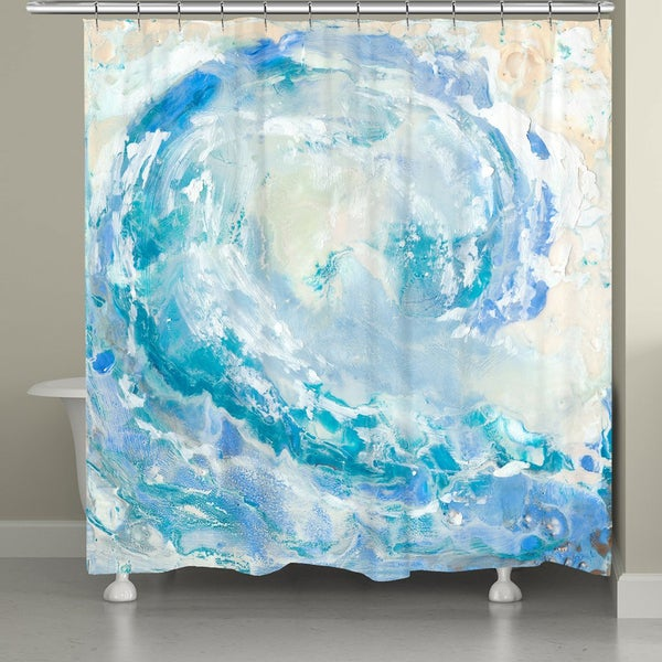 Laural Home Ocean Wave Shower Curtain