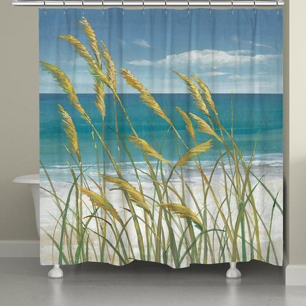 Shop Laural Home Ocean Breeze Shower Curtain