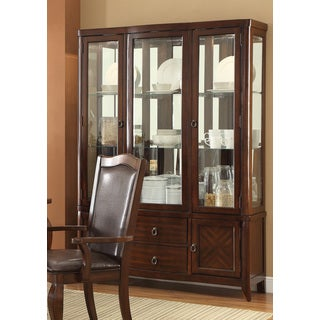 Signature Design by Ashley \'Larchmont\' Dark Brown Dining Room ...