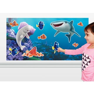 Colorforms 'Finding Dory' Big Wall Restickable Playset