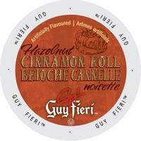 Guy Fieri Coffee Hazelnut Cinnamon Roll Single-serve Portion Pack for Keurig K-Cup Brewers