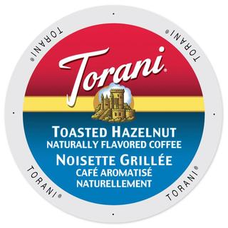 Torani Coffee Toasted Hazelnut Single Serve Cup Portion Pack for Keurig K-Cup Brewers