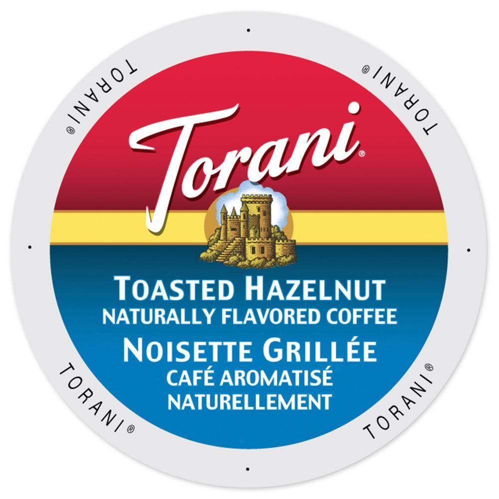 Torani Coffee Toasted Hazelnut Single Serve Cup Portion P...