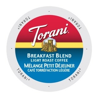Torani Coffee Breakfast Blend Single-serve Keurig K-cup Portion Pack (2 options available)
