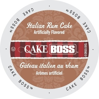 Cake Boss Coffee 'Italian Rum Cake' Single-serve K-Cup Portion Pack