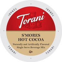 Torani Indulgent Beverages S'Mores Hot Cocoa Single-serve Portion Pack for Keurig K-Cup Brewers