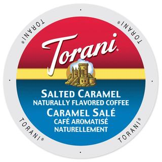 Torani Coffee Salted Caramel Keurig K-Cup Brewers Single-serve Cup Portion Pack (2 options available)