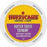 Hurricane Coffee and Tea Butter Toffee Tsunami Single-serve Cup Portion Pack