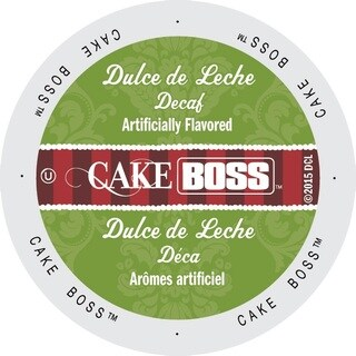 Cake Boss 'Dulce de Leche' Decaf Coffee Single-serve K-Cup Portion Pack