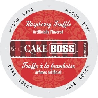 Cake Boss Coffee Raspberry Truffle Single-serve Cup Portion Pack for Keurig K-Cup Brewers