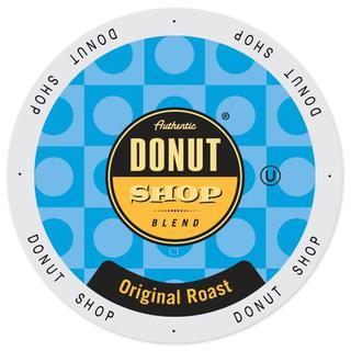 Authentic Donut Shop Blend Original Roast Single-serve K-cups for Keurig Brewers