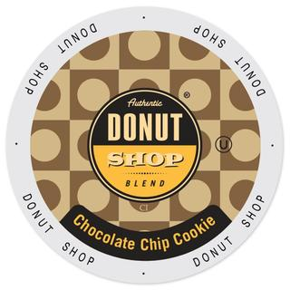 Authentic Donut Shop Blend Chocolate Chip Cookie Single-serve Keurig K-cup Portion Pack
