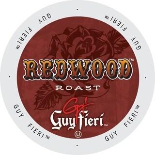 Guy Fieri Coffee Redwood Roast Keurig K-Cup Brewers Single-serve Cup Portion Pack