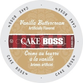 Cake Boss Vanilla Buttercream Coffee in Single-serve Cup Pack for Keurig K-Cup Brewers
