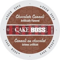 Cake Boss Coffee Chocolate Cannoli, Single-serve Cup Portion Pack for Keurig K-Cup Brewers