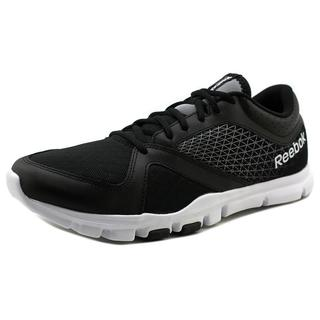 Reebok Men's YourFlex Train 7.0 LMT Black Mesh Athletic Shoes