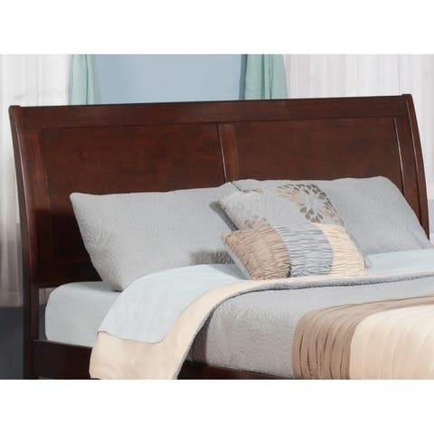 Portland Walnut Finish King-size Headboard