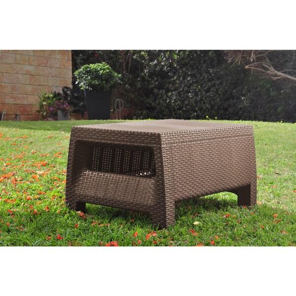 Keter Corfu Brown Modern All Weather Outdoor Patio Garden