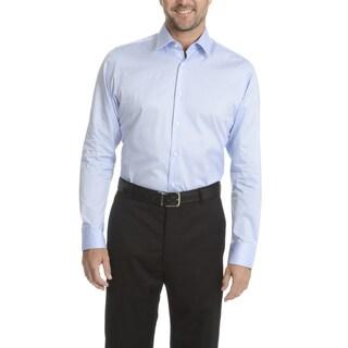 Vince Camuto Men's Cotton Long-sleeved Modern-fit Dress Shirt