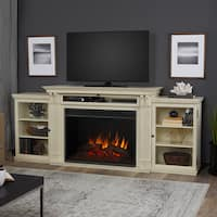 Tracey Electric Grand Fireplace Distressed White by Real Flame