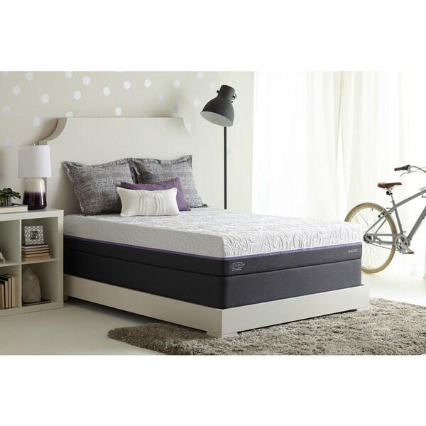 Shop Optimum By Sealy Posturepedic Radiance Gold Cushion Firm Full Size Mattress Set Free
