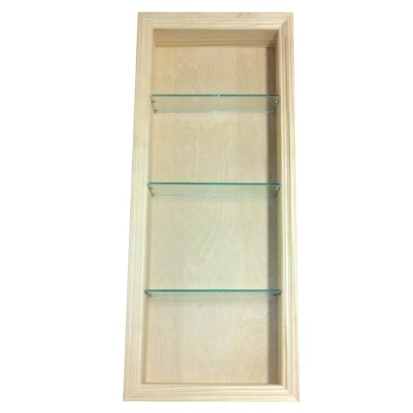 Recessed Shelf In Bathroom Wall: 36-inch Tall 2.5-inch Deep Recessed In-the-wall Desoto