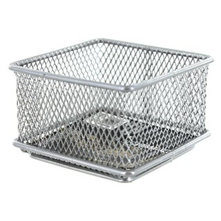 "Design Ideas 120979 3"" X 3"" SilverStainless Steel Mesh Drawer Organizer"