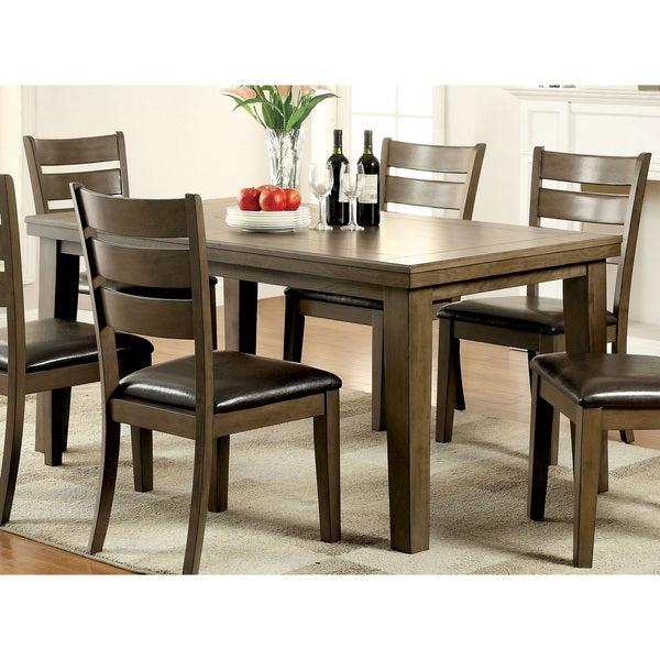 Shop Furniture Of America Frema Transitional Wooden Grey