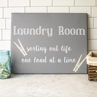 Laundry Room Gallery Wrapped Canvas Art