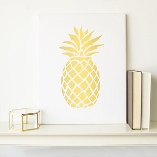 Pinapple Gallery-wrapped Canvas