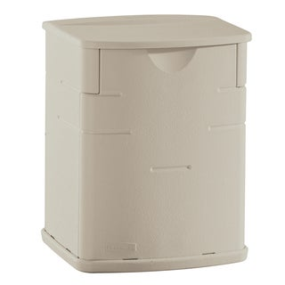 "Rubbermaid FG374301SSTON 11"" H X 6"" W X 5"" D Small Sand Color Deck Box"