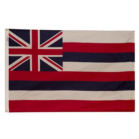 Valley Forge HI3 3' X 5' Spectramax Nylon Hawaii Flag
