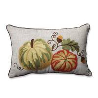 Pillow Perfect Gourdy Harvest Rectangular Throw Pillow