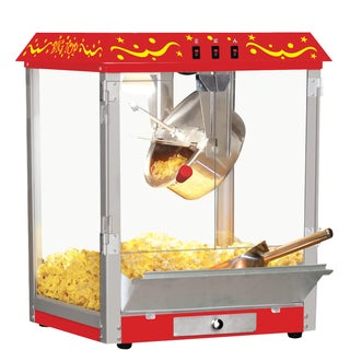 Big Top Red Stainless Steel Home Popcorn Machine