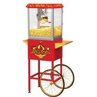 Big Top Red Stainless Steel Popcorn Machine