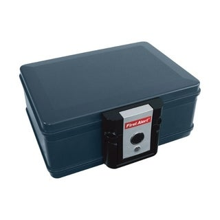 First Alert 2011F .17 Cubic Foot Gray Fire Chest