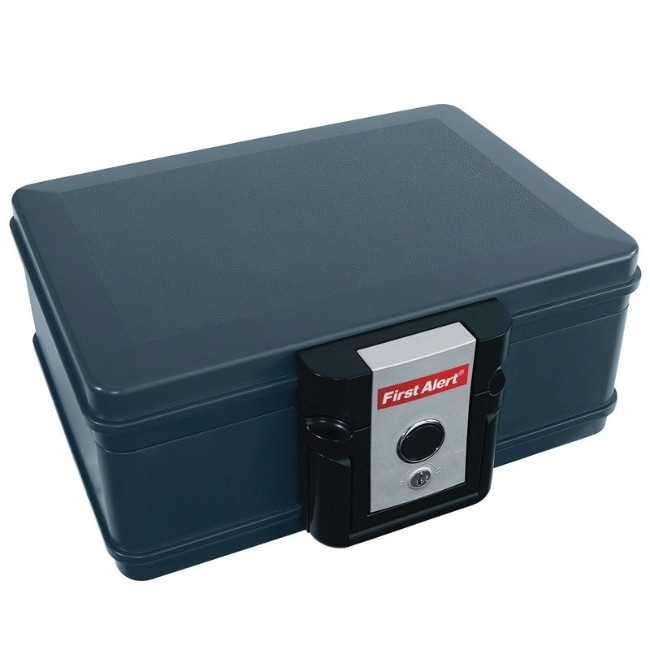 First Alert 2013F .17 Cubic Foot Gray Fire & Water Chest ...