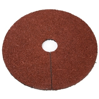 Trademark Innovations 30-inch Reversible Mulch-ring Tree Protector Mat