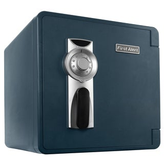 First Alert 2092F 1.3 Cubic Feet Gray Fire & Water Safe With Combination Lock