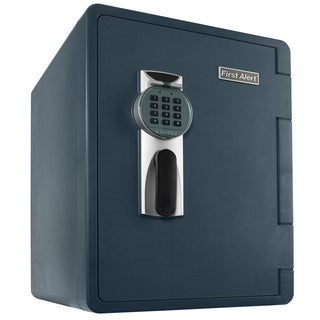 First Alert 2096DF 2.14 Cubic Feet Gray Fire & Water Safe With Digital Lock