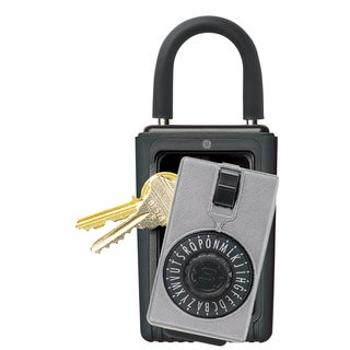 GE Security 001005 Dial Portable Lock Key Safe