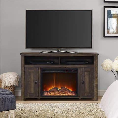 Ameriwood Home Farmington Heritage Pine 50-inch Media Fireplace