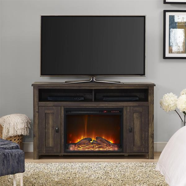 Ameriwood Home Farmington Heritage Pine 50-inch Media Fireplace
