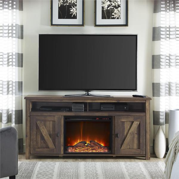 Shop Ameriwood Home Farmington Heritage 60 Inch Media