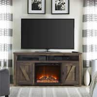 Ameriwood Home Farmington Heritage 60-inch Media Fireplace