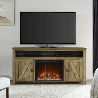 Altra Farmington Heritage Light Pine 60-inch Media Fireplace